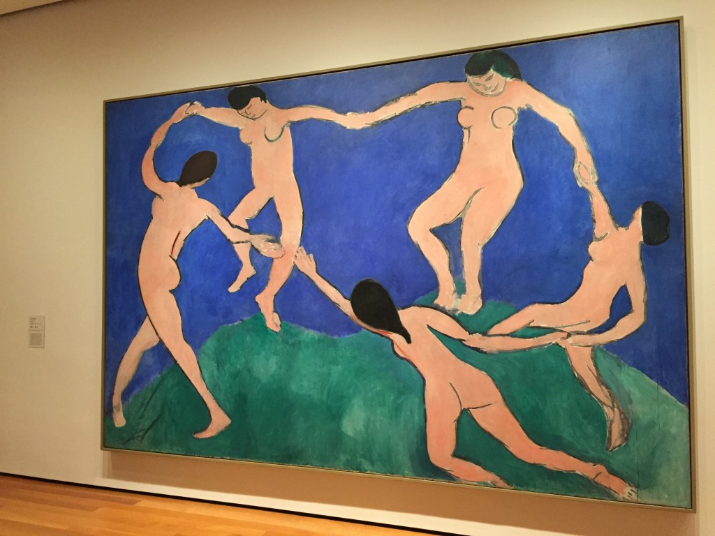 La Danza, 1909 de Henry Matisse en Museo Arte Moderno NY, marzo 2015